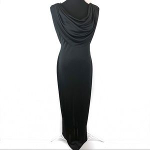 Gorgeous vintage disco gown dress